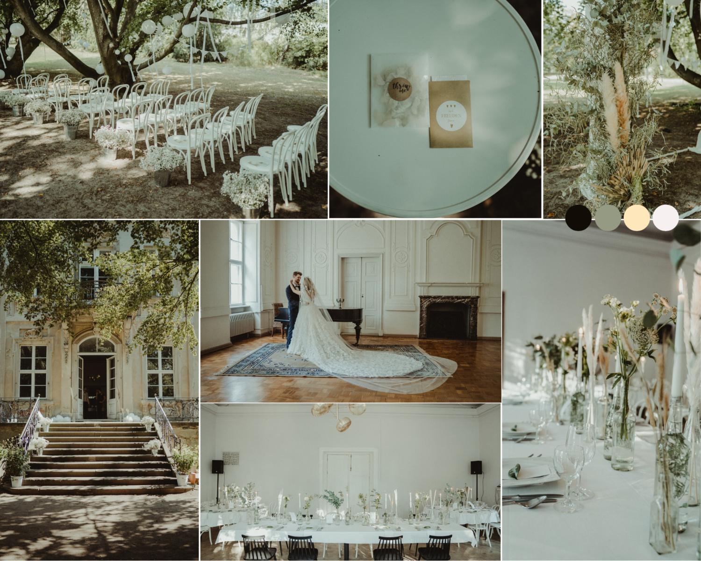 Hochzeitskonzept, Designkonzept